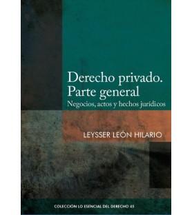 Derecho privado. Parte general