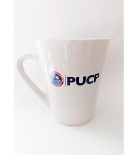 Taza blanca PUCP